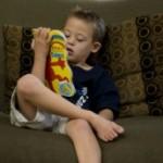 Tyler Orbaker, age 6