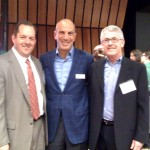 Michael Mussallem - Edwards Lifesciences CEO (center), with Tres Heald and Lanny Hardy