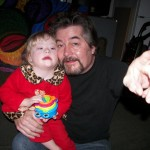 Kim Holloway & daughter Olivia
